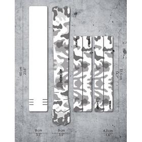 DYEDBRO Camo Kit di Protezione del Telaio, trasparente/nero